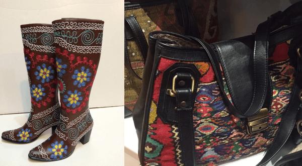 Turkish Boots and Handbags