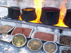 Natural Dyes for Oriental Rugs