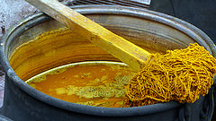 Natural Dye for Oriental Rugs