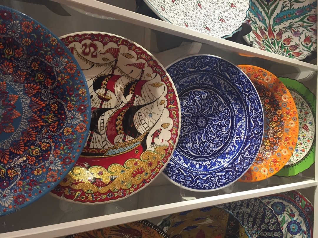 Turkish Ceramic Plates : turkish tableware - pezcame.com